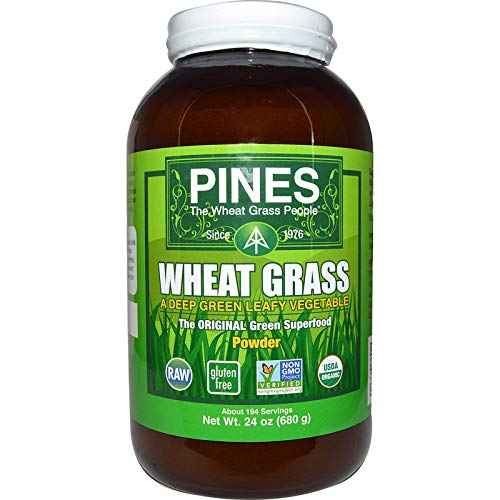 (Pines Organic Wheat Grass Powder, 24 Ounce)