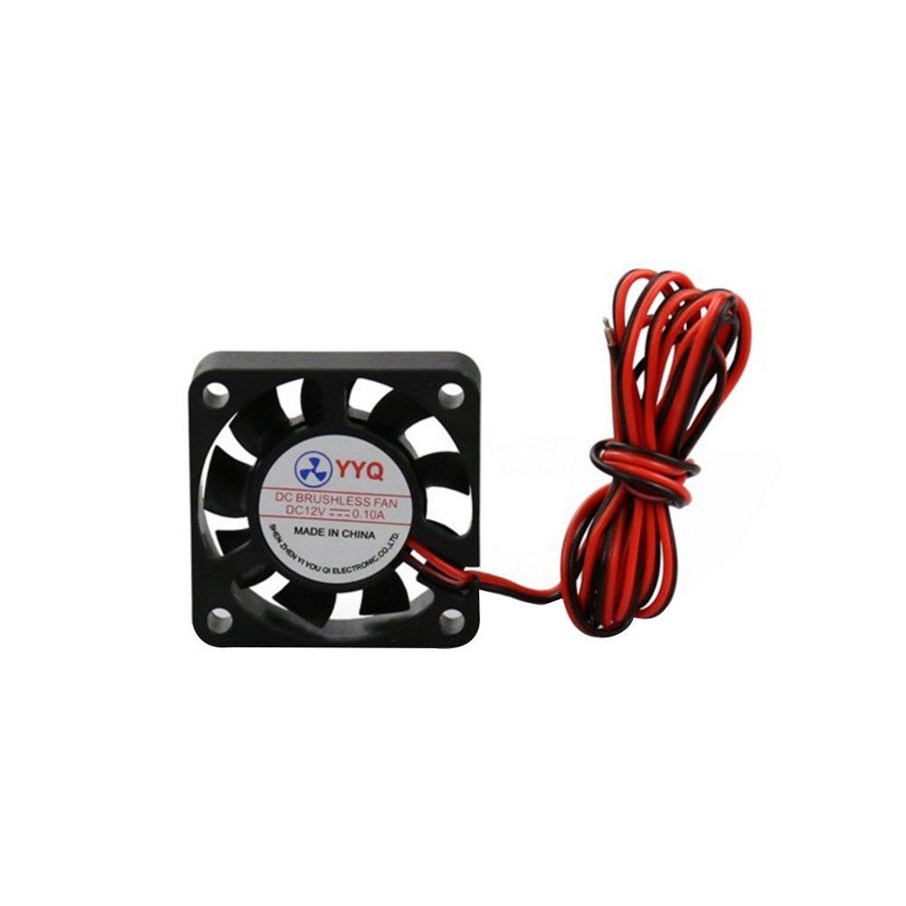 UEETEK DC 24V 4010 Mini Ventilador sin ventilador de refrigeració n 40x40x10mm Pequeñ o extractor para impresora 3D