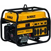 DeWalt 6100 Running Watts/7200 Starting Watts, Gas Powered Portable Generator, CARB Compliant