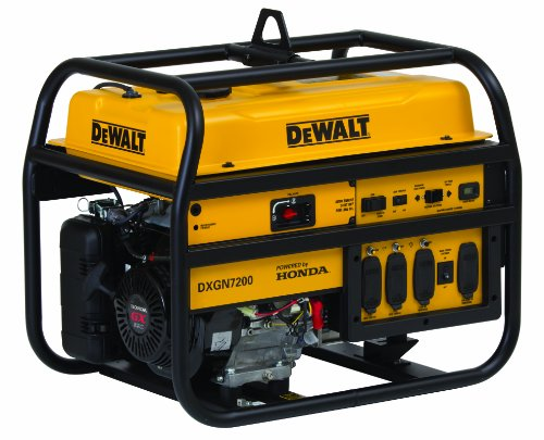 DeWalt 6100 Running Watts/7200 Starting Watts, Gas Powered Portable Generator