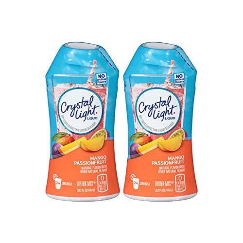 Crystal Light Liquid Mix, Mango Passion Fruit, 1.62 OZ (Pack of 2)