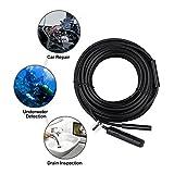 Endoscope MAXFUL Mac/PC/Laptop/Computer Inspection Camera USB 15 Meter 6-LED 2 MP HD IP67 Handheld Digital Waterproof USB Borescope Pipe Snake Camera