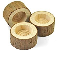 Wood Candle Holder, Home Decor, Rustic Wedding Decor,Candle Holder, Wedding Gift, Set of 3