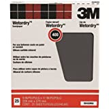 3M Pro-Pak Wetordry Between Finish Coats Sanding Sheets, 400A-Grit, 9-Inch by 11-Inch - 99420NA