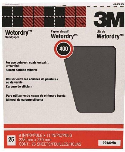 3M Pro-Pak 400 Grit Wetordry Sanding Sheets}
