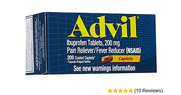 Advil Caplets-200ct