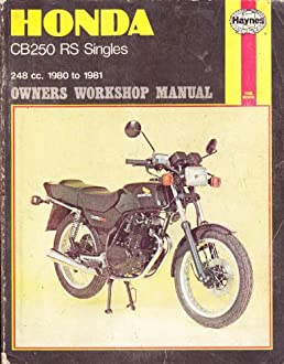 honda cb250rs singles owner s workshop manual haynes workshop rh amazon com Honda Rebel 450 Honda CB 400