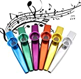 Quality 6 Different Colors of Metal Kazoo