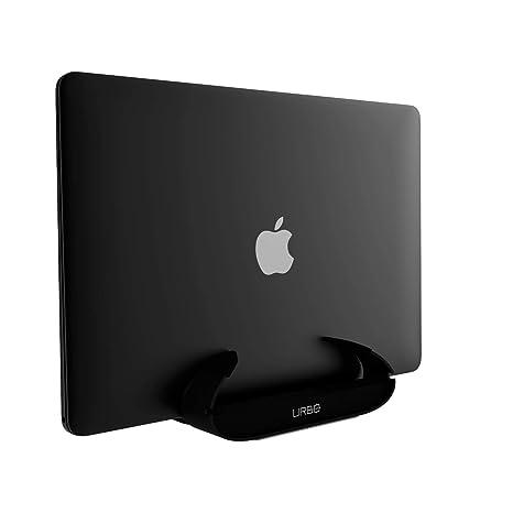 Urbo - Soporte Vertical Ajustable para Ordenador portátil, Color Negro