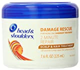 head and shoulders damage rescue - Head and Shoulders Damage Rescue 2 Minute Repair Scalp & Hair Treatment 7.6 Fl Oz