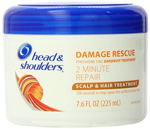 Head and Shoulders Damage Rescue 2 Minute Repair Scalp & Hair Treatment 7.6 Fl Oz ()