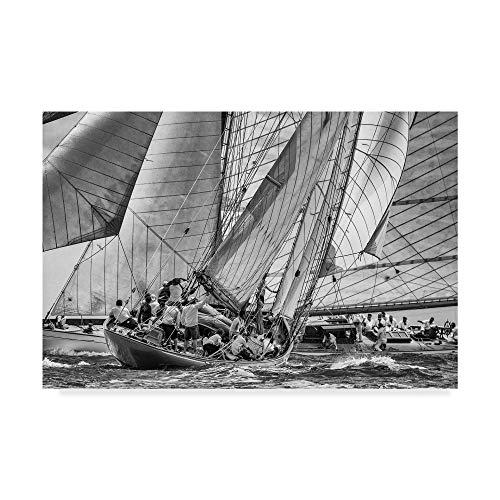 Trademark Fine Art Moonbeams Crossing by Marc Pelissier, 30x47-Inch 30x47