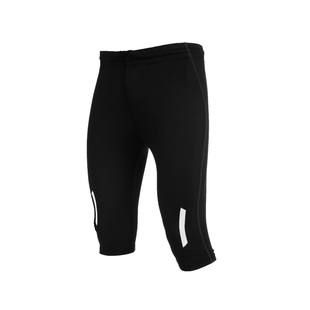 Men's Compression Performance Shorts With Reflection Strips - Knee-length ImpEx12