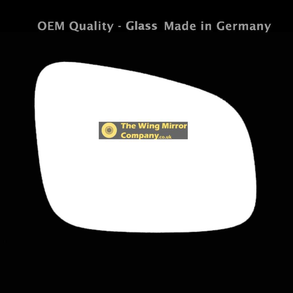 Driver Side Fits to Car Reg 2009 to 2015 CHV-Spark Wing Mirror Glass RH