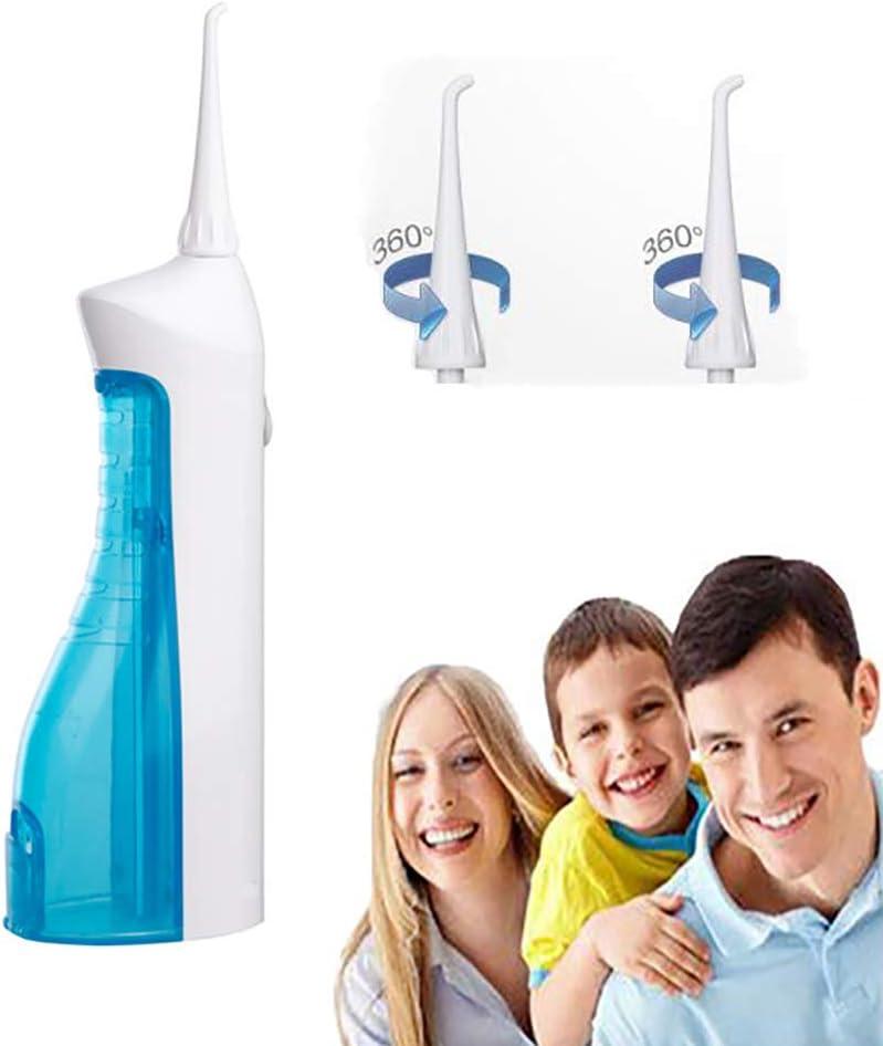 DOLA Irrigador Dental sin Cable para Dientes - Profesional 150ML Oral Irrigator IPX7 a Prueba de Agua irrigador bucal para Viajes al Aire Libre,Azul