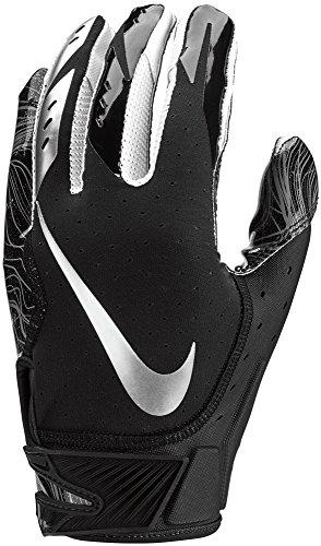 half off 01cf5 b84c8 Men s Nike Vapor Jet 5.0 Football Gloves Black Chrome Size Large