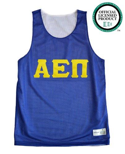 Ann Arbor T-shirt Company Men's ALPHA EPSILON PI Mesh AEPi Tank Top