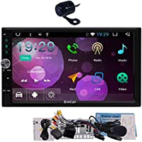 2017 EinCar Android 6.0 OS Car Electronics in Dash Double 2 Din GPS Navigation Head Unit support Dual Cam-in Wifi 3G/4G Dongle Optional OBD2 1080p Video in & out with FREE backup Camera