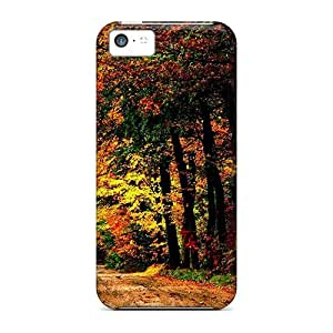 Cute Tpu Jamesmeggest Colorful Pathway Case Cover For Iphone 5c