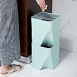 CURE SECRET 1 Pcs Separate Recycling Waste Bin