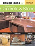 img - for Design Ideas for Decorative Concrete and Stone book / textbook / text book