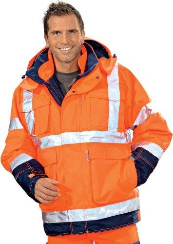 UD giacca Philipp, taglia XL, Arancione/Blu