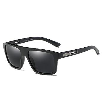 Ciclismo Gafas Marco Cuadrado Gafas de Sol polarizadas de los Hombres del Marco Completo Protección Duradera