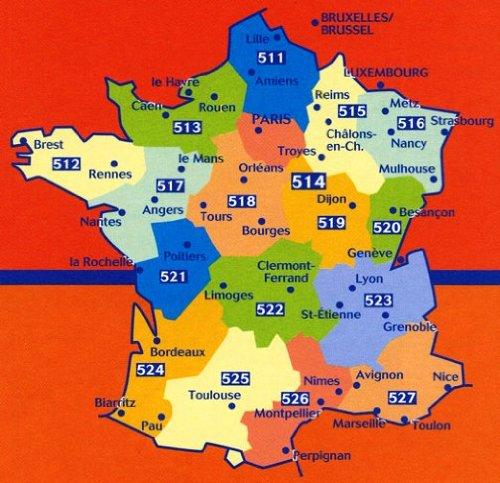 Download Michelin Map 517 Pays de Loire (France) (Haute Resistance) (Tear-Resistant) (Multilingual Edition) PDF
