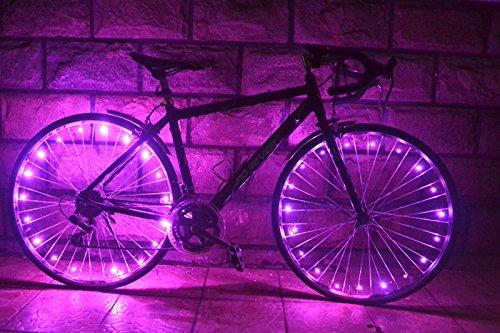 OuterStar Waterproof Bicycle Wheel Lights 20-LED Bike String