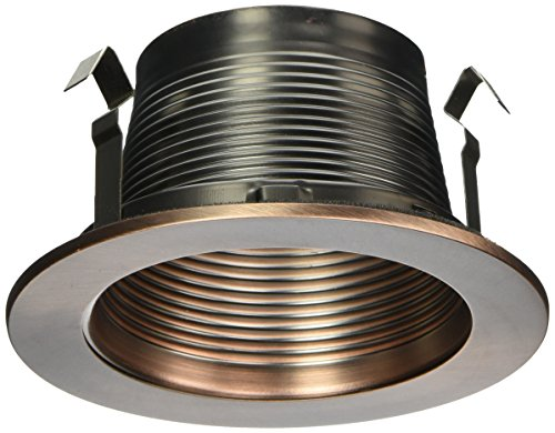 Ic Stepped Baffle Trim (WAC Lighting R-420-CB R400 Series Trim Step Baffle)