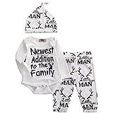 Best Newborn Outfits - Newborn Baby Boy Girl Clothing Set, Casual Deer Review
