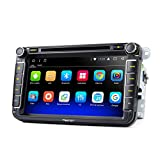 Eonon GA8153A Car Audio Stereo Radio for Volkswagen(VW)/SEAT/SKODA 8'' HD Android 7.1 2GB+32GB Octa-Core In Dash Touchscreen Car GPS Navigation with Bluetooth Fender System Split Screen