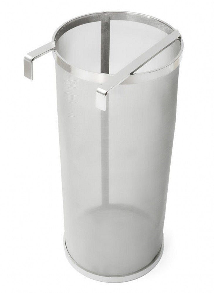 400 Micron Stainless Steel Home Brewing Beer Brewing Hop Filter Hop Spider (5.9' x 13.78')