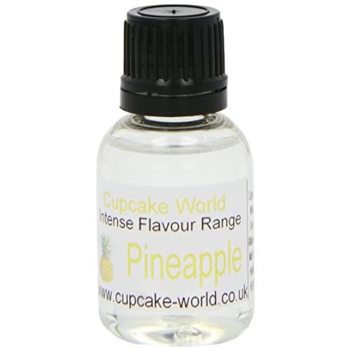 Cupcake World Intense Food Flavouring Pineapple 28.5 ml (Pack of 2)