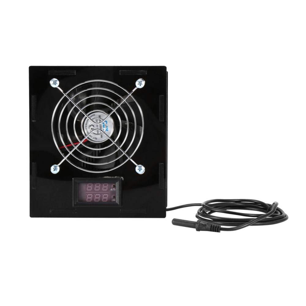 Acuario Enfriador de Termostato con Control de Temperatura para Pecera Agua Salada y Dulce: Amazon.es: Industria, empresas y ciencia