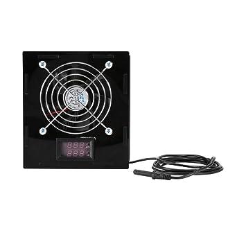 Acuario Enfriador de Termostato con Control de Temperatura para Pecera Agua Salada y Dulce