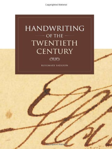 Handwriting of the Twentieth Century by Brand: Intellect Ltd