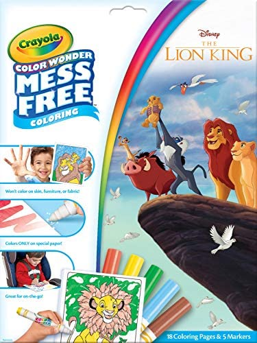 Crayola Color Wonder Coloring Markers product image