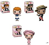Pop Television I Love Lucy - Lucy, Ricky, Factory Lucy Vinyl Figures Set