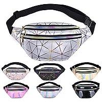 Fanny Packs for Women Men Cute Fanny Pack for Kids Teens Girls Boys Fashion Waterproof Waist Pack with Multi-Pockets…
