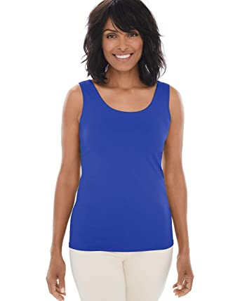 3227a276198f25 Chico's Women's Stretch Layering Tank Top at Amazon Women's Clothing ...