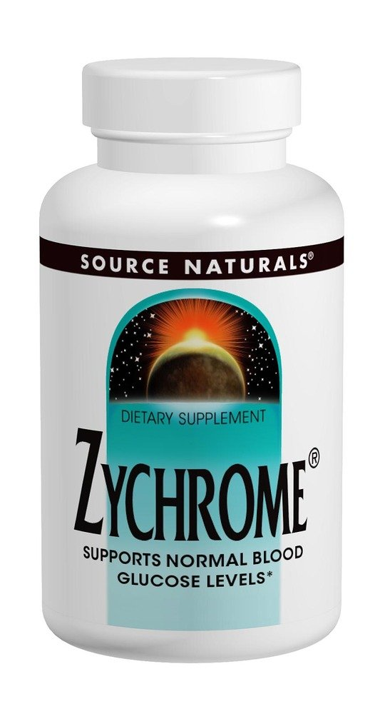 SOURCE NATURALS Zychrome Tablet, 120 Count