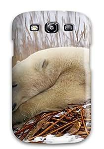 FVabHsu2644TTcWM Winter Nature Snow Seasons Wildlife Predator Fashion Tpu S3 Case Cover For Galaxy