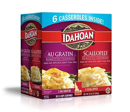 Product of Idahoan Au Gratin and Scalloped Potato Homestyle Casserole, 6 pk. [Bi