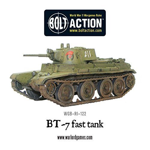 Warlord Games Wgb-ri-122, Soviet Bt-7 Fast Tank, Bolt Action Wargaming Models