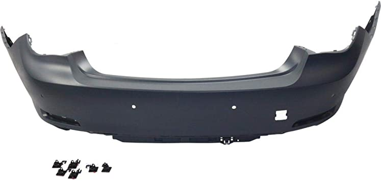 Front Bumper Cover For 2007-2010 BMW X5 w// Park Sensor Holes Primed Plastic