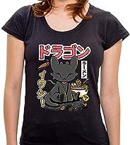 Camiseta Dragon's Ramen - Femi