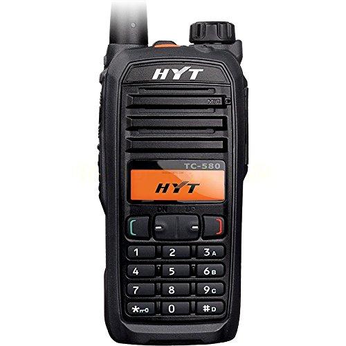 TC-580 TC-580U TC-580U1 Original HYT UHF 400-470 MHz Handheld Transceiver -  256 Channels, 4 Watts, 32 Zones, Display, Keypad DTMF