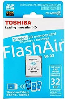 Amazon.com: Tarjeta de memoria 32 GB Toshiba FlashAir WiFi ...