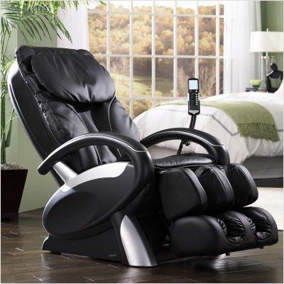 16020 Feel Good Shiatsu Massage Chair Color: Black by (Berkline Chair)